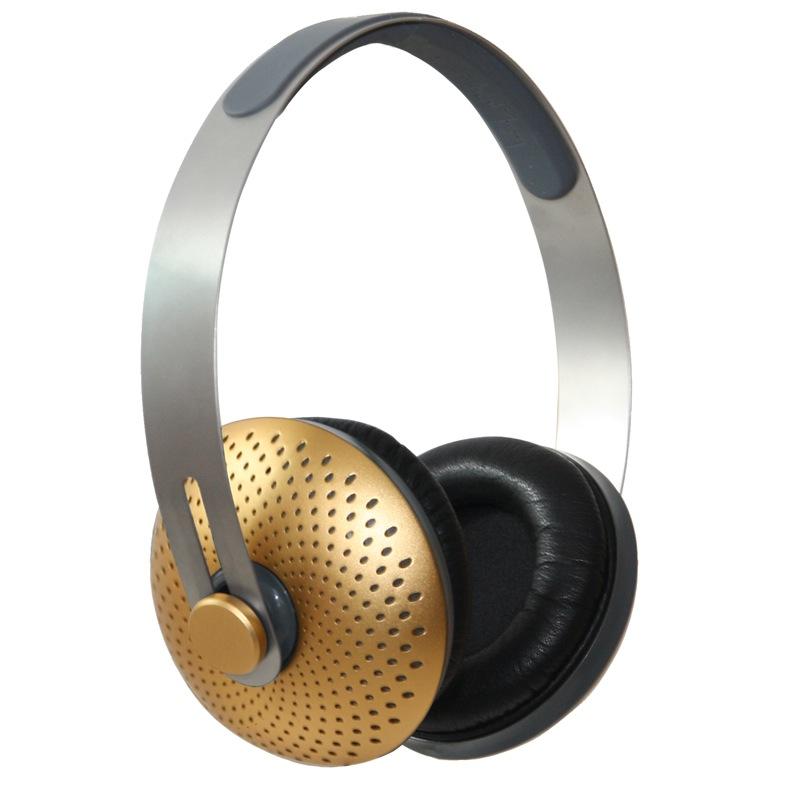 Hi Tech Gold Headphones