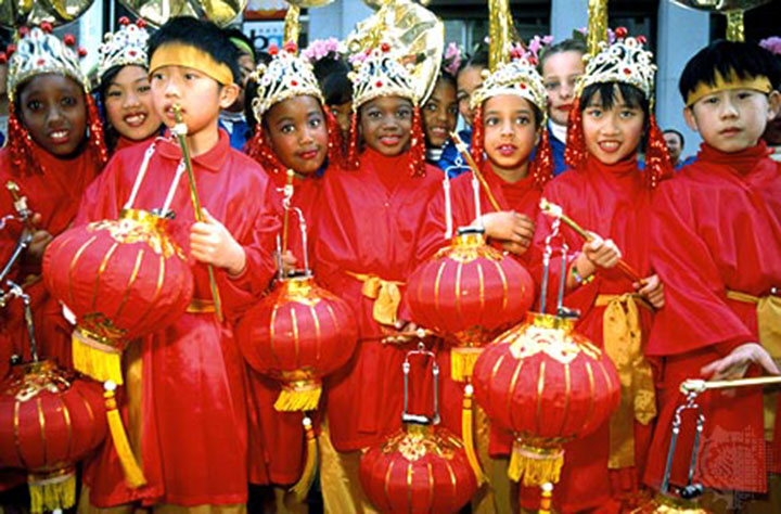 Everyone can celebrate Chinese New Year. image: britannica.com