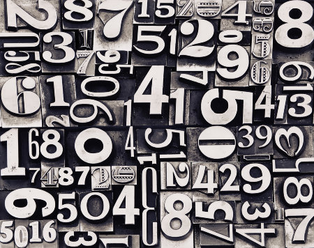 These numbers are more powerful that they appear. image: bradley keen